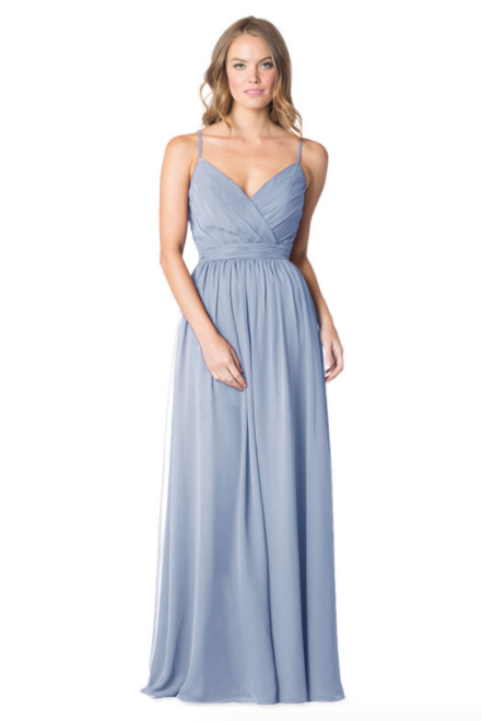 Bari Jay Bridesmaid Dress - 1606 IC-Sky