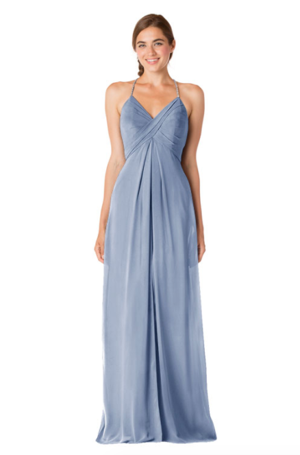 Bari Jay Bridesmaid Dress - 1723 IC-Sky