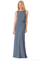 Bari Jay Bridesmaid Dress - 1661-Slate