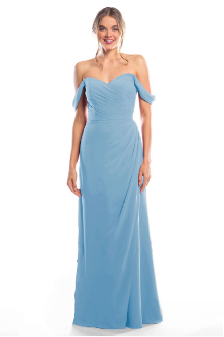 Bari Jay Bridesmaid Dress 2080 - Slate