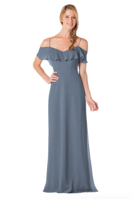 Bari Jay Bridesmaid Dress - 1730-Slate