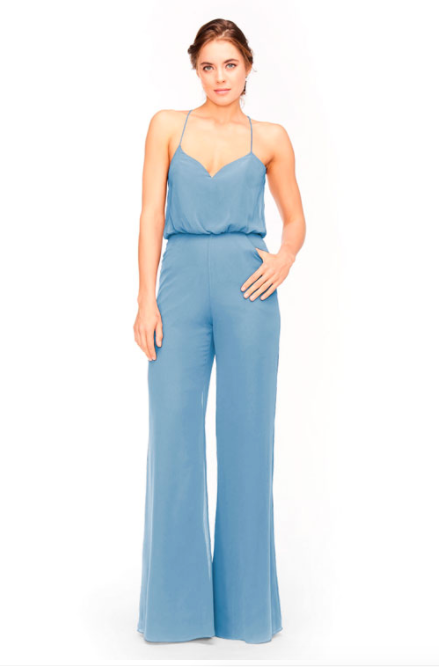 Bari Jay Jumpsuit Bridesmaid Dress 1964 - Slate