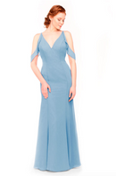 Bari Jay Bridesmaid Dress 1972 - Slate