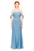 Bari Jay Bridesmaid Dress 1974 - Slate