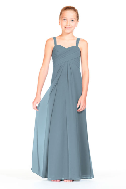 Bari Jay Junior Bridesmaid Dress 1803 (JR)-Slate