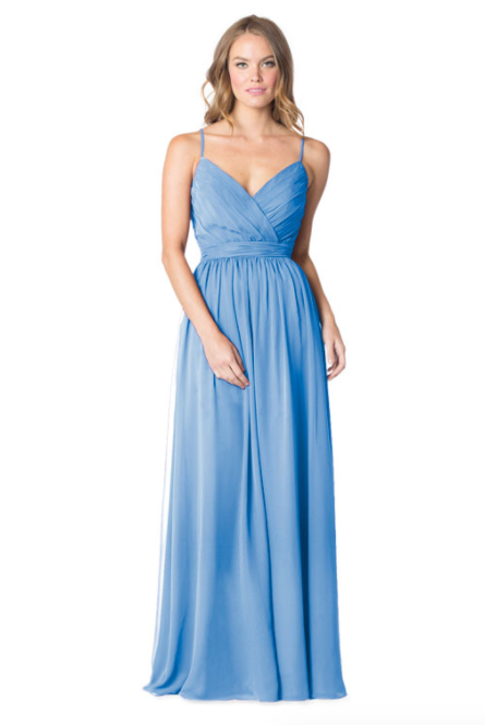 Bari Jay Bridesmaid Dress - 1606 BC-StoneBlue