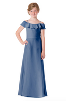 Bari Jay Junior Bridesmaid Dress - 1730(JR)-StoneBlue_