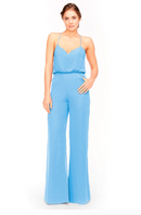 Bari Jay Jumpsuit Bridesmaid Dress 1964 - StoneBlue