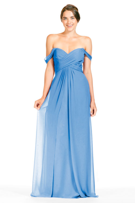 Bari Jay Bridesmaid Dress 1803 - StoneBlue
