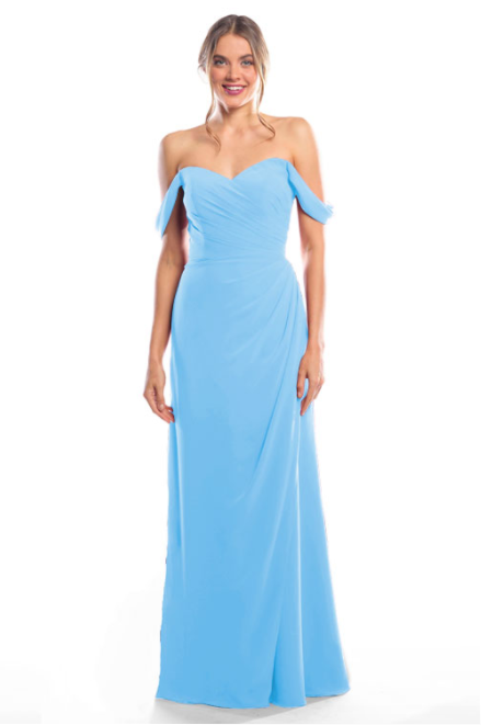 Bari Jay Bridesmaid Dress 2080 - StoneBlue