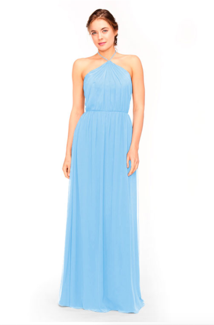 Bari Jay Bridesmaid Dress 1969 - StoneBlue