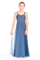 Bari Jay Junior Bridesmaid Dress 1803 (JR)-StoneBlue