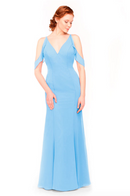 Bari Jay Bridesmaid Dress 1972 - StoneBlue