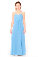 Bari Jay Junior Bridesmaid Dress 1962 - StoneBlue