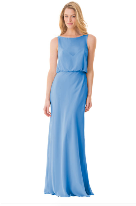 Bari Jay Bridesmaid Dress - 1661-StoneBlue