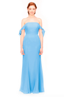 Bari Jay Bridesmaid Dress 1974 - StoneBlue