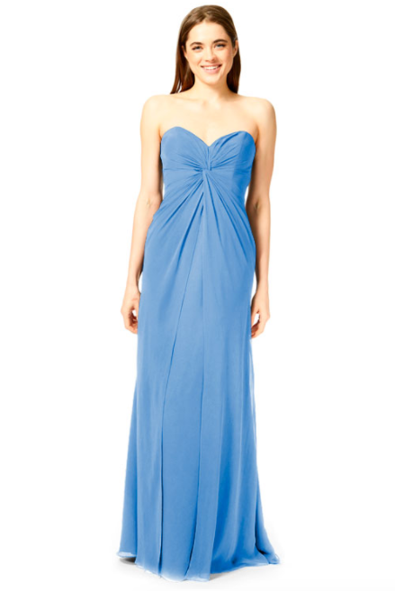 Bari Jay Bridesmaid Dress 1870 -StoneBlue