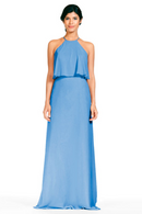 Bari Jay Bridesmaid Dress 1801-StoneBlue