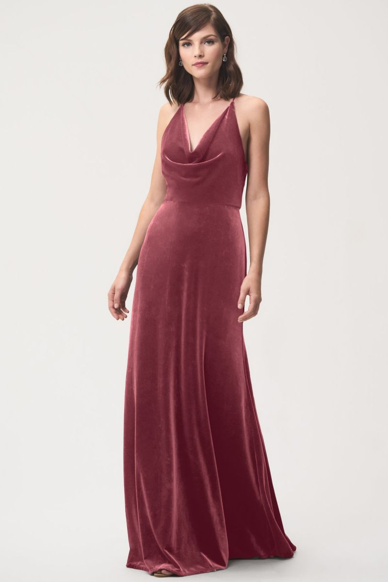 Jenny Yoo Bridesmaid Dress Sullivan- Cinnamon Rose