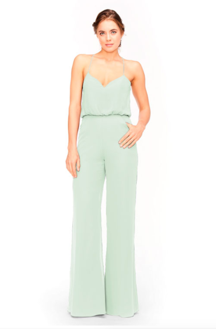 Bari Jay Jumpsuit Bridesmaid Dress 1964 - SweetMint