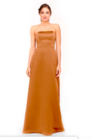 Bari Jay Bridesmaid Dress 1975 - Tangerine