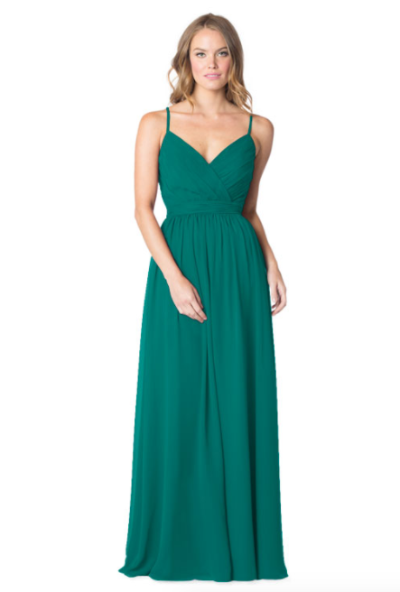 Bari Jay Bridesmaid Dress - 1606 IC-Teal