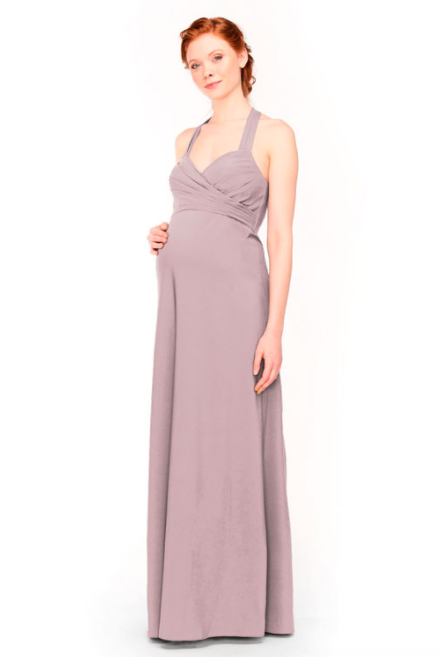 Bari Jay Maternity Bridesmaid Dress 1958 -Thistle