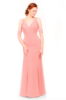 Bari Jay Bridesmaid Dress 1972 - Tulip