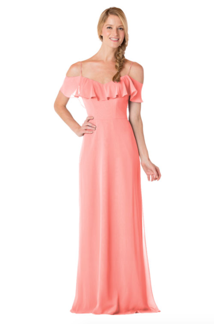 Bari Jay Bridesmaid Dress - 1730-Tulip