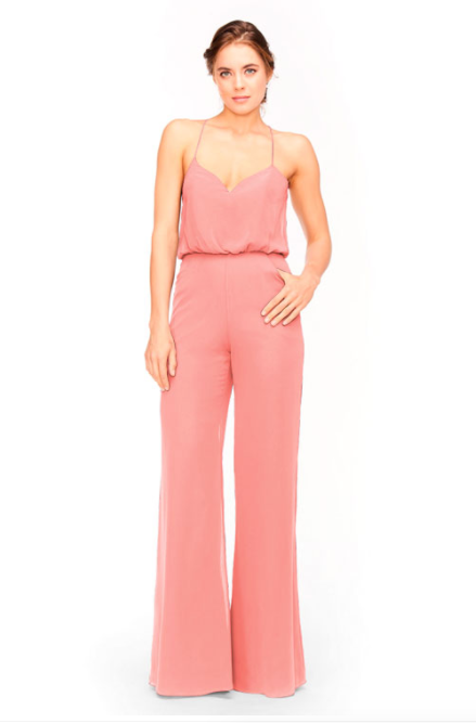 Bari Jay Jumpsuit Bridesmaid Dress 1964 - Tulip