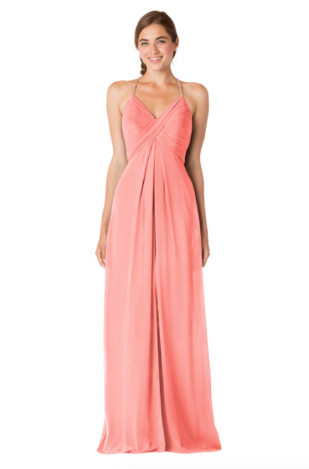 Bari Jay Bridesmaid Dress - 1723 BC-Tulip