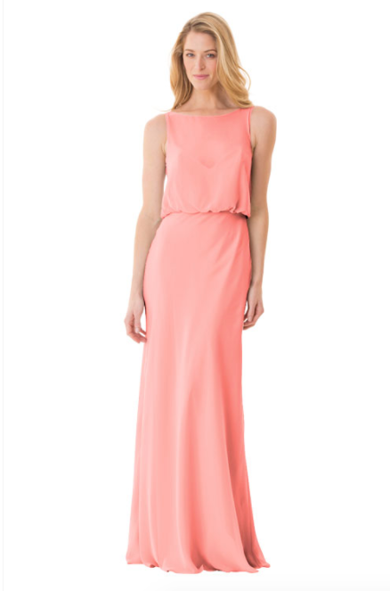 Bari Jay Bridesmaid Dress - 1661-Tulip
