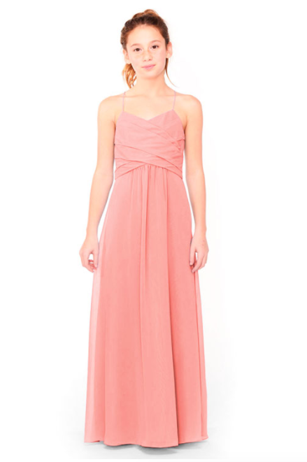 Bari Jay Junior Bridesmaid Dress 1962 - Tulip