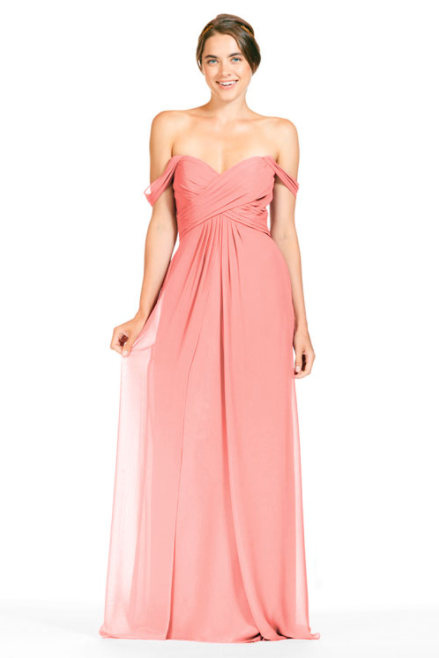 Bari Jay Bridesmaid Dress 1803 - Tulip