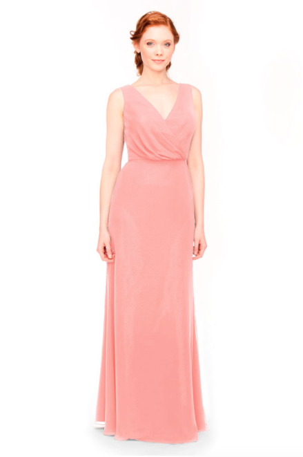 Bari Jay Bridesmaid Dress 1970 -Tulip