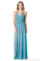 Turquoise-Bari Jay Bridesmaid Dress - 1600