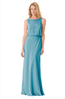 Bari Jay Bridesmaid Dress - 1661-Turquoise