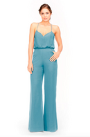 Bari Jay Jumpsuit Bridesmaid Dress 1964 - Turquoise