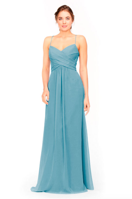 Bari Jay Bridesmaid Dress 1962 -Turquoise
