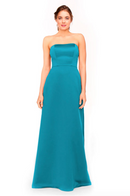 Bari Jay Bridesmaid Dress 1975 - Turquoise