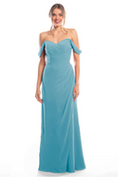 Bari Jay Bridesmaid Dress 2080 - Turquoise