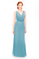 Bari Jay Bridesmaid Dress 1970 -Turquoise