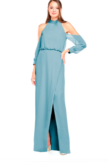 Bari Jay Bridesmaid Dress 2028 - Turquoise