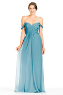 Bari Jay Bridesmaid Dress 1803 - Turquoise