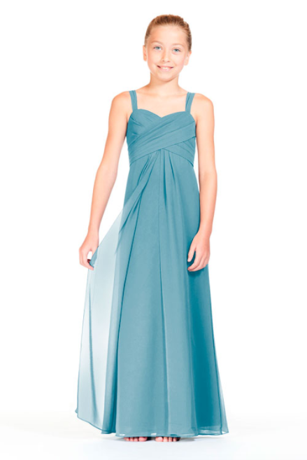 Bari Jay Junior Bridesmaid Dress 1803 (JR)-Turquoise