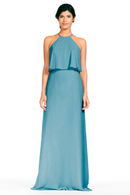 Bari Jay Bridesmaid Dress 1801-Turquoise