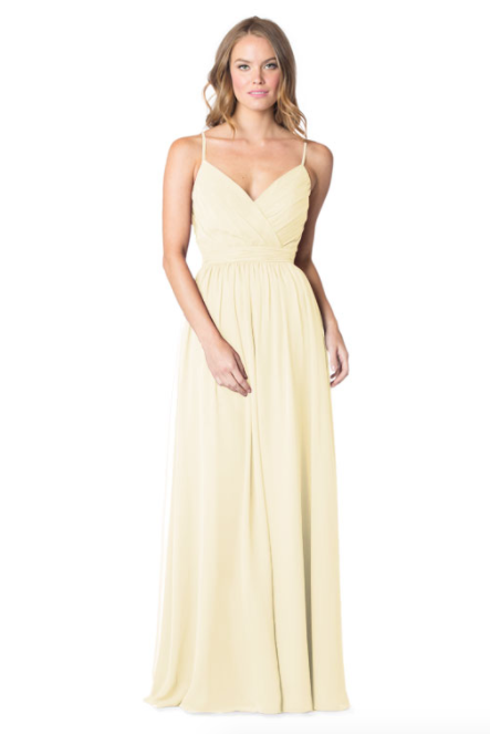 Bari Jay Bridesmaid Dress - 1606 IC-Vanilla