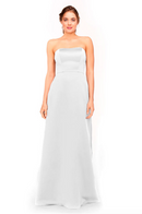 Bari Jay Bridesmaid Dress 1975 - White