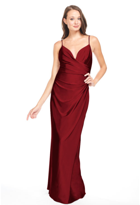 Bari Jay Bridesmaid Dress - 2005 Wine