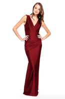 Bari Jay Bridesmaid Dress - 2006 Wine